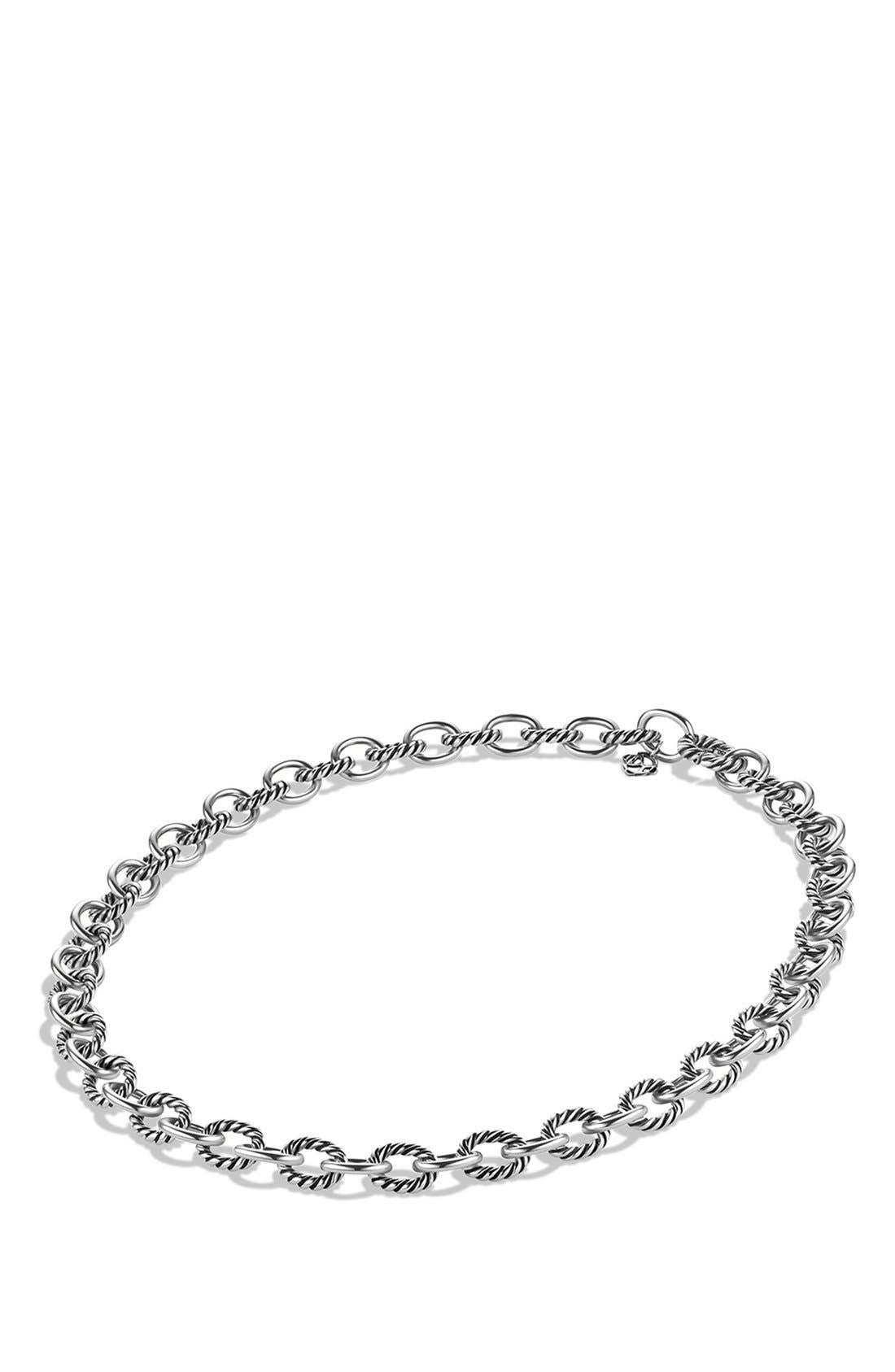Alternate Image 2  - David Yurman 'Oval' Medium Link Necklace