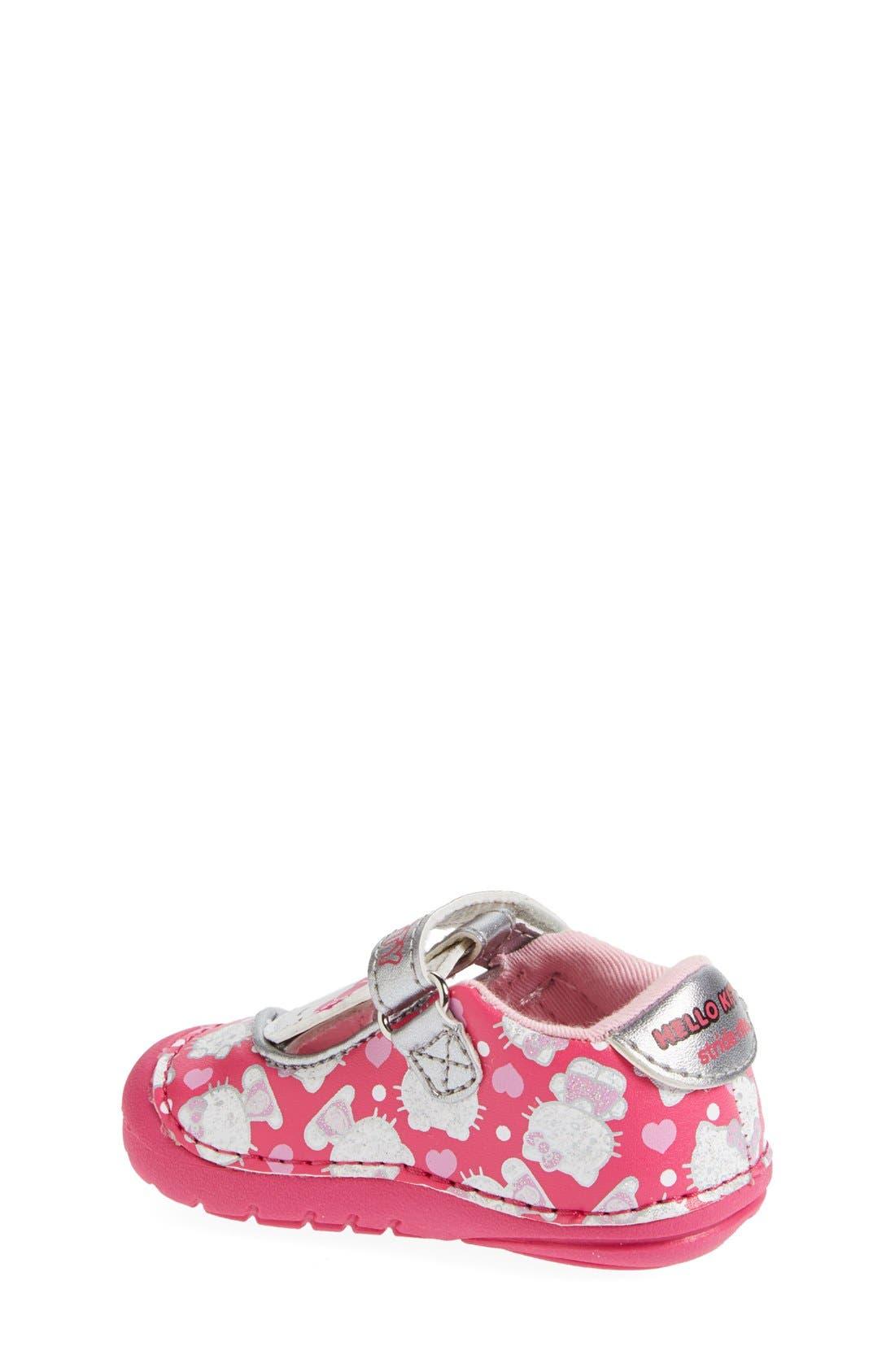 Alternate Image 2  - Stride Rite 'Hello Kitty®' Mary Jane (Baby & Walker)