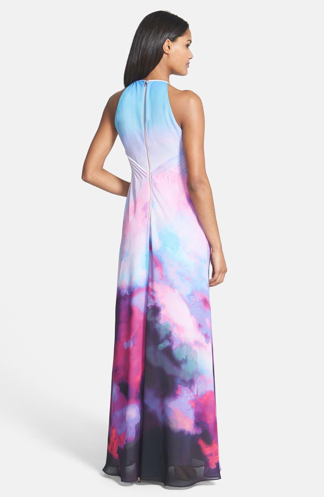 Alternate Image 2  - Ted Baker London 'Summer at Dusk' Print Maxi Dress