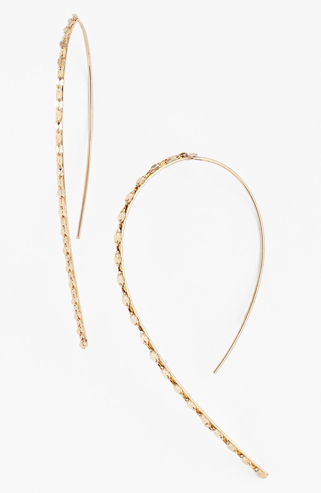 Alternate Image 1 Selected - Lana Jewelry 'Glam' Small Hooked-On Hoop Earrings