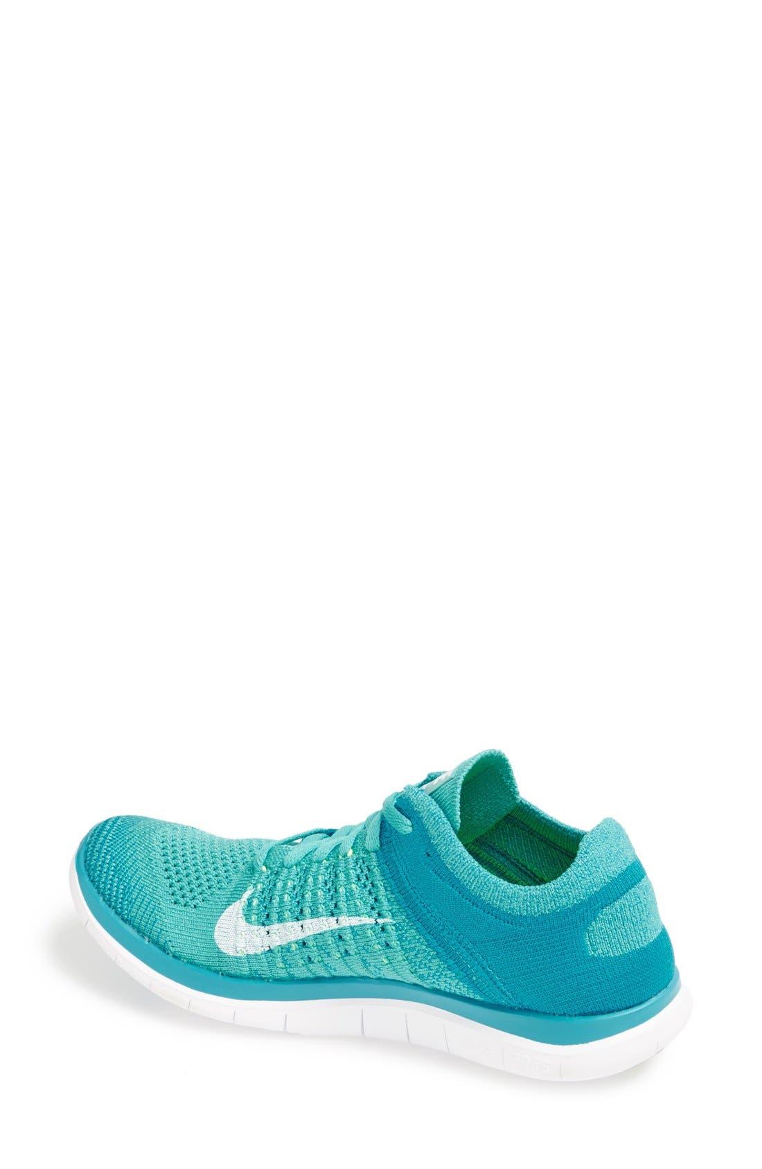 Alternate Image 2  - Nike 'Free 4.0 Flyknit' Running Shoe (Women) (Regular Retail Price: $120.00)