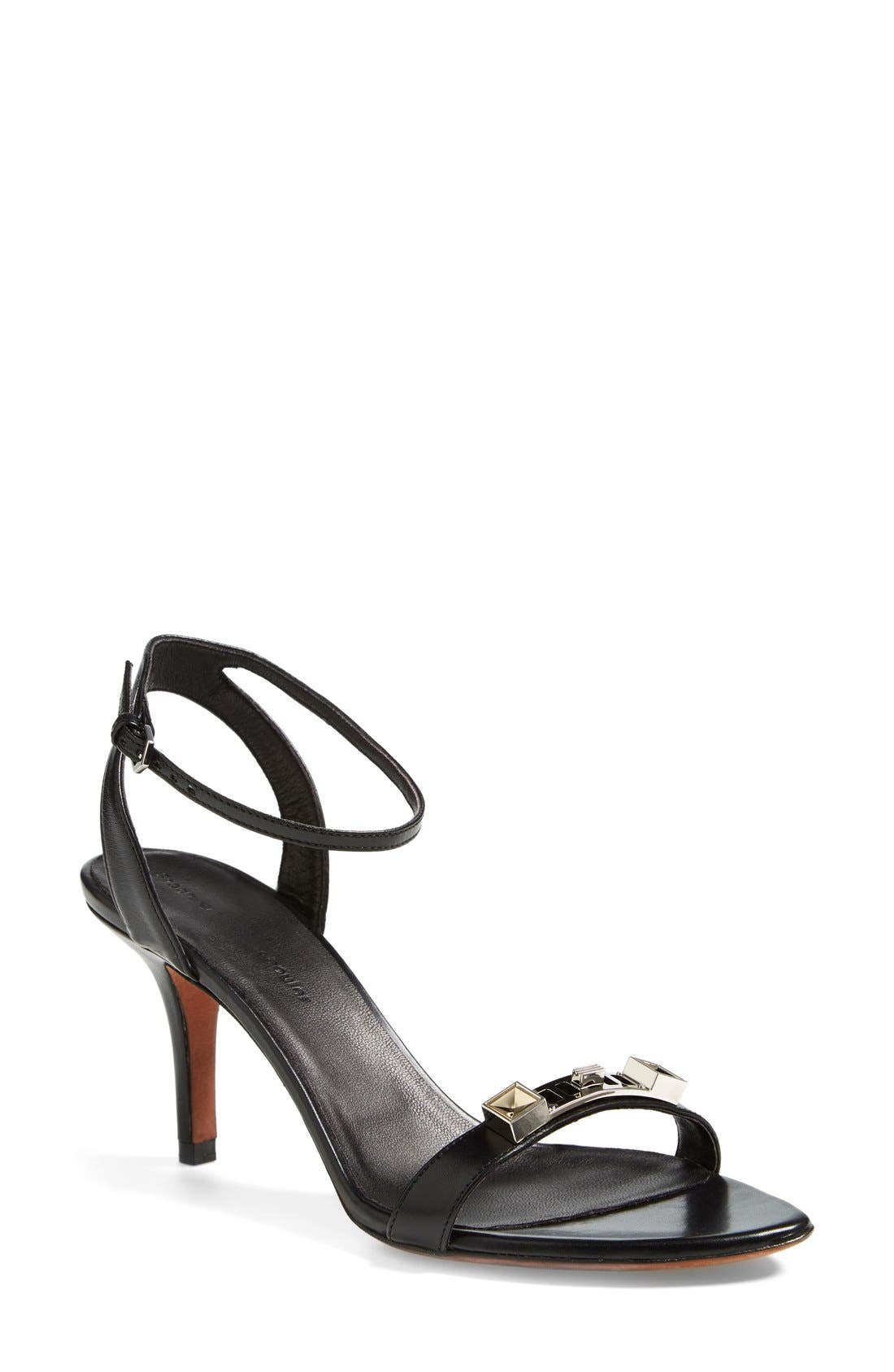 Alternate Image 1 Selected - Proenza Schouler Leather Ankle Strap Sandal