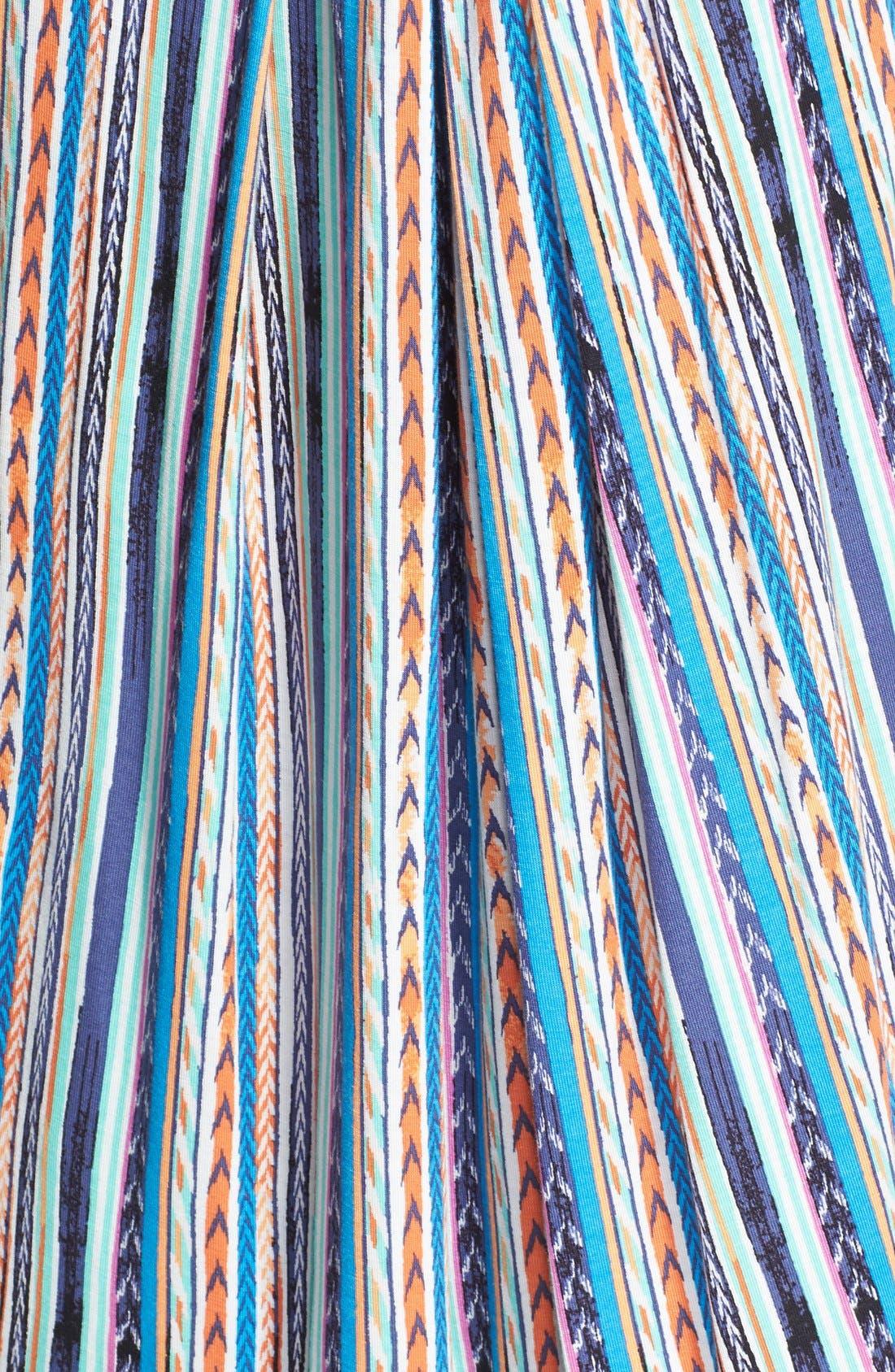 Alternate Image 3  - Ella Moss 'Bondi' Stripe V-Neck Tank