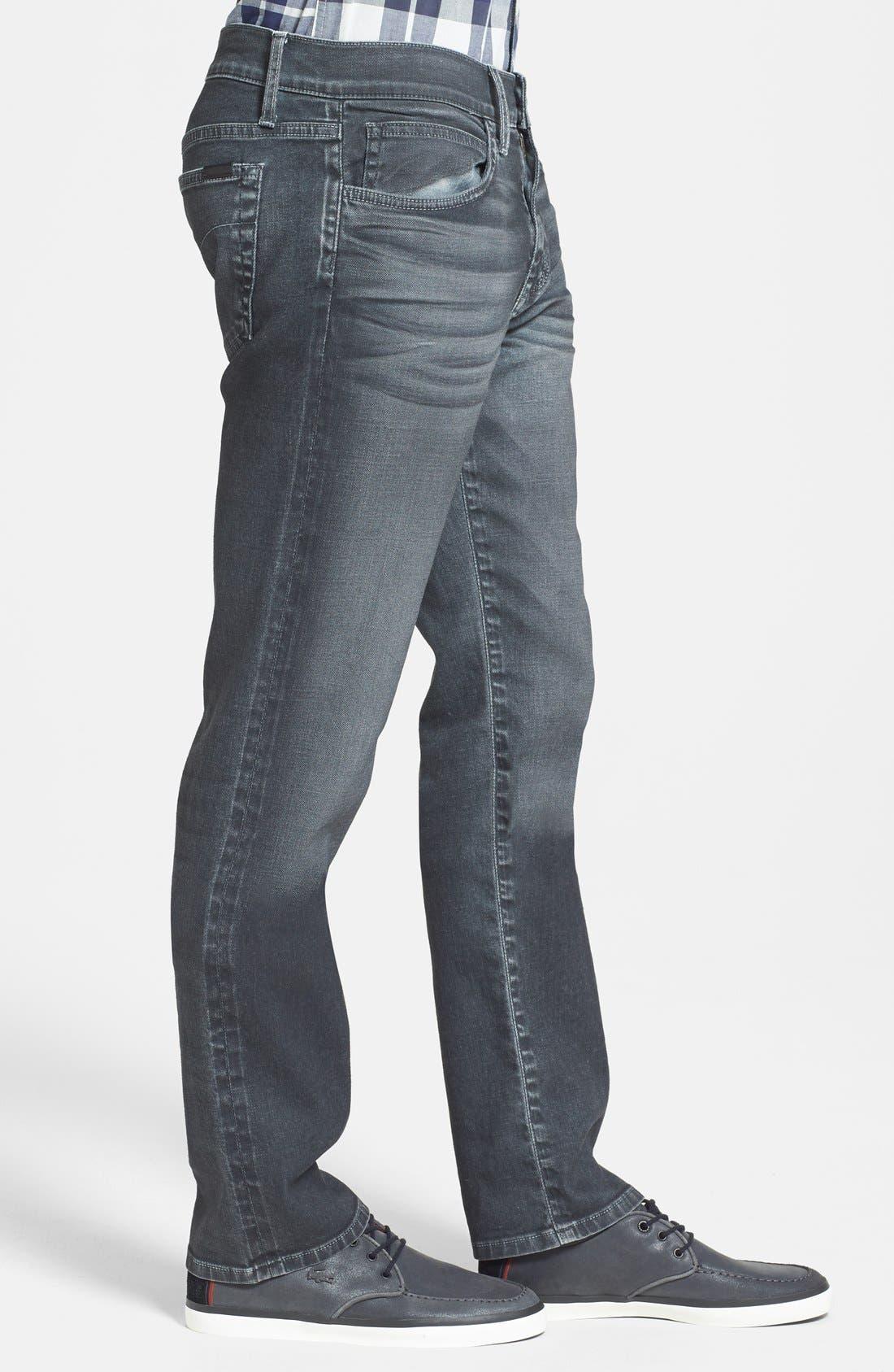 Alternate Image 3  - Joe's 'Brixton' Slim Fit Jeans (Steel)