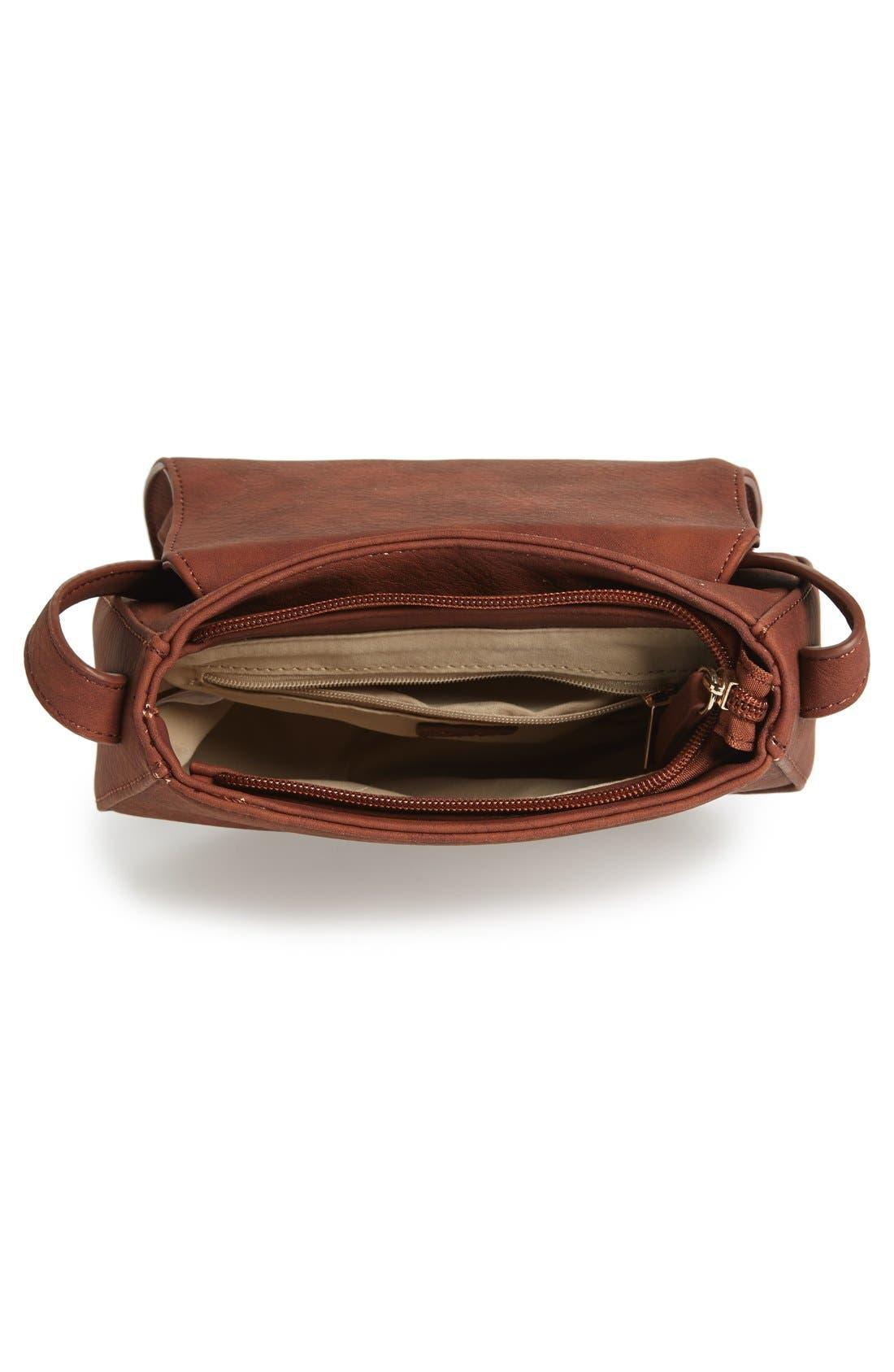Alternate Image 3  - BP. Zip Detail Saddle Crossbody Bag (Juniors)