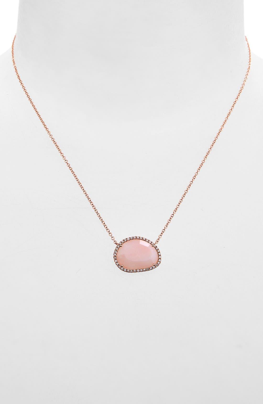 Main Image - MeiraT Semiprecious Stone & Diamond Pendant Necklace