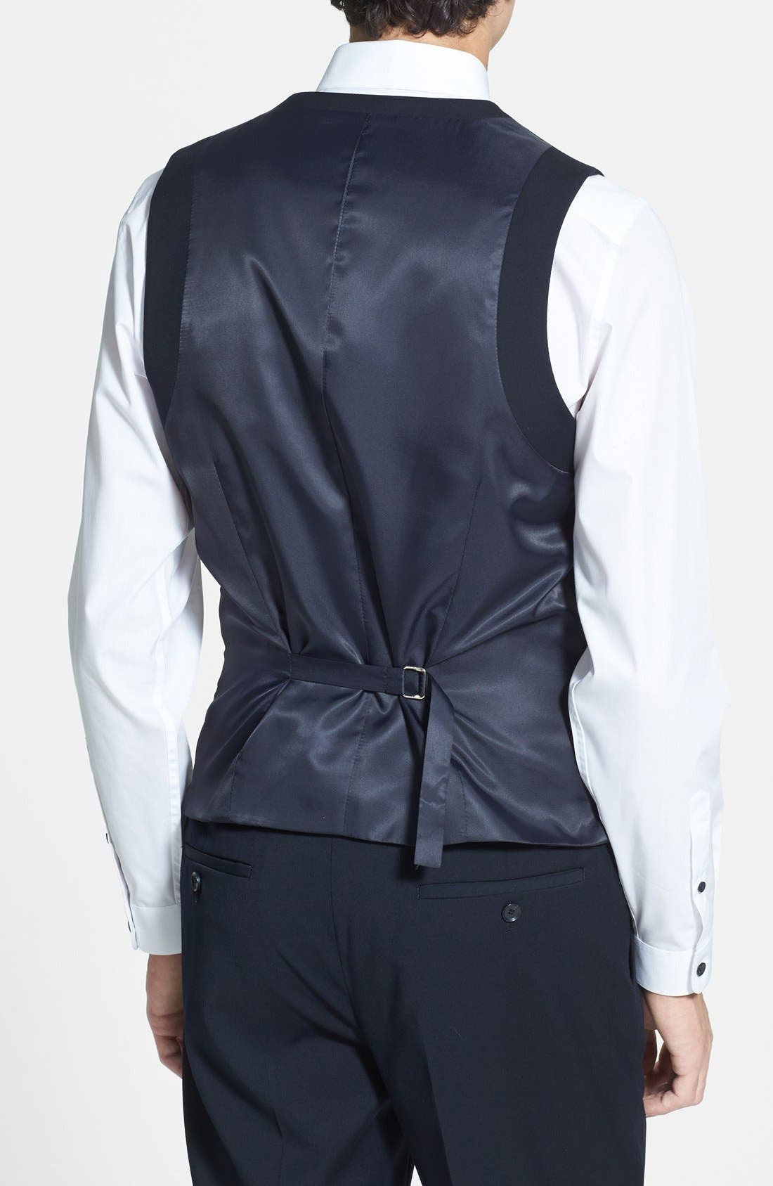 Alternate Image 2  - Topman Skinny Fit Vest