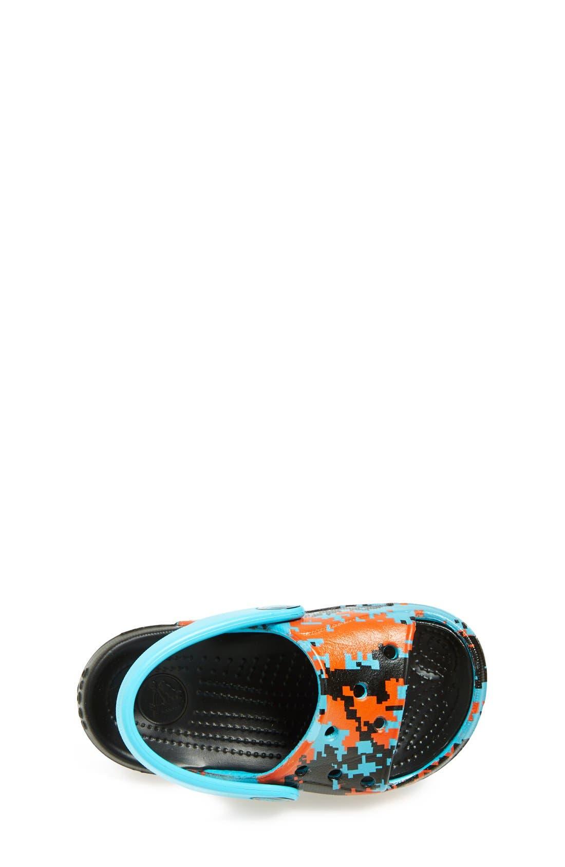 Alternate Image 3  - CROCS™ 'Electro Slide - Digi Camo' Sandal (Walker, Toddler & Little Kid)