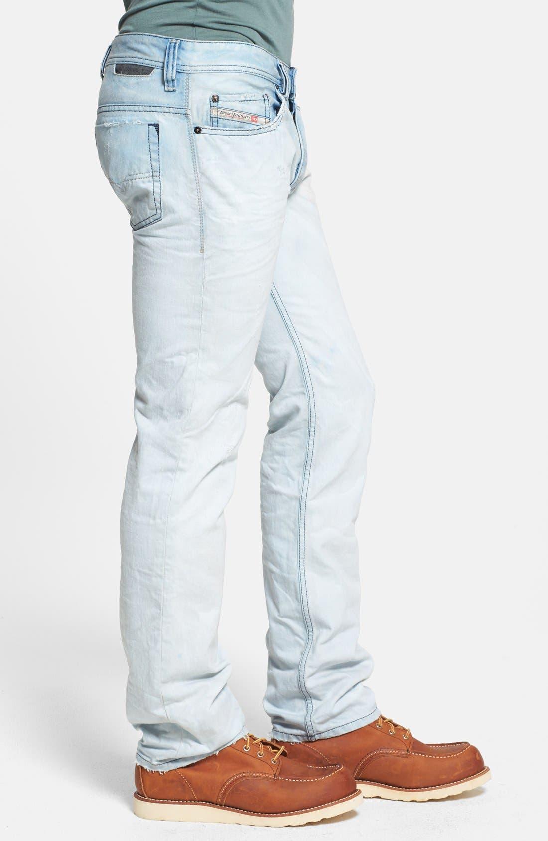 Alternate Image 3  - DIESEL® 'Safado' Slim Fit Jeans (0831A)