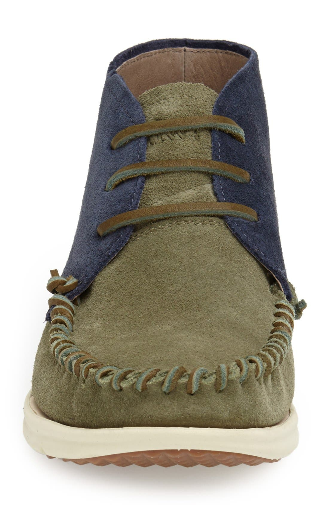 Alternate Image 3  - ohw? 'Louis' Two Tone Suede Moc Toe Boot (Men)