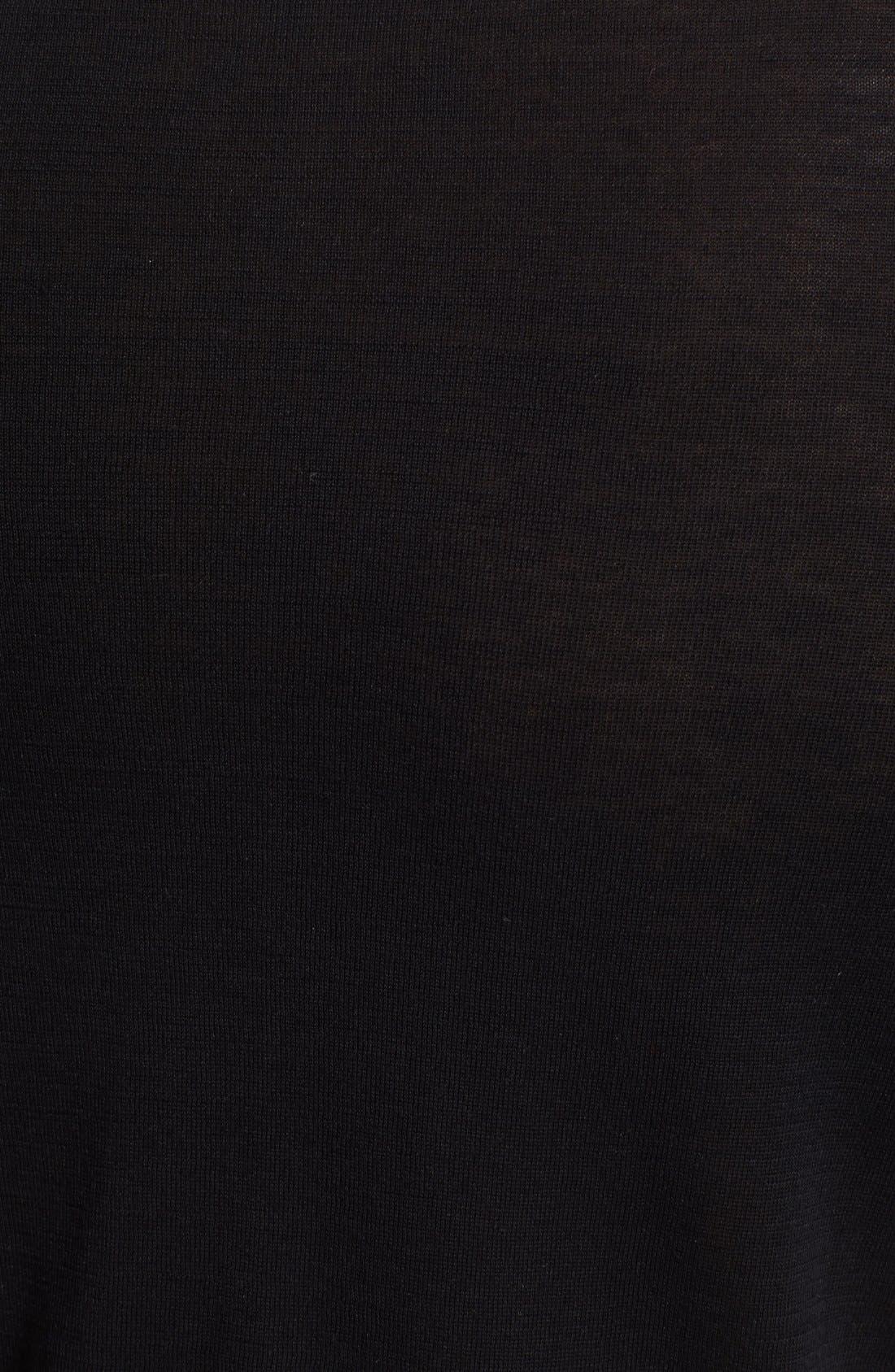 Alternate Image 3  - Armani Collezioni Textured Knit Polo