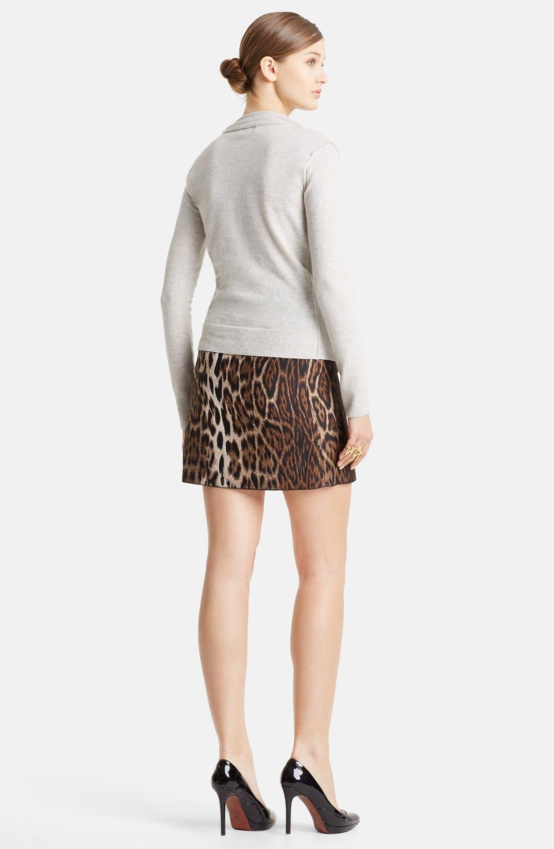 Alternate Image 2  - Lanvin Gathered Shoulder Wool Sweater