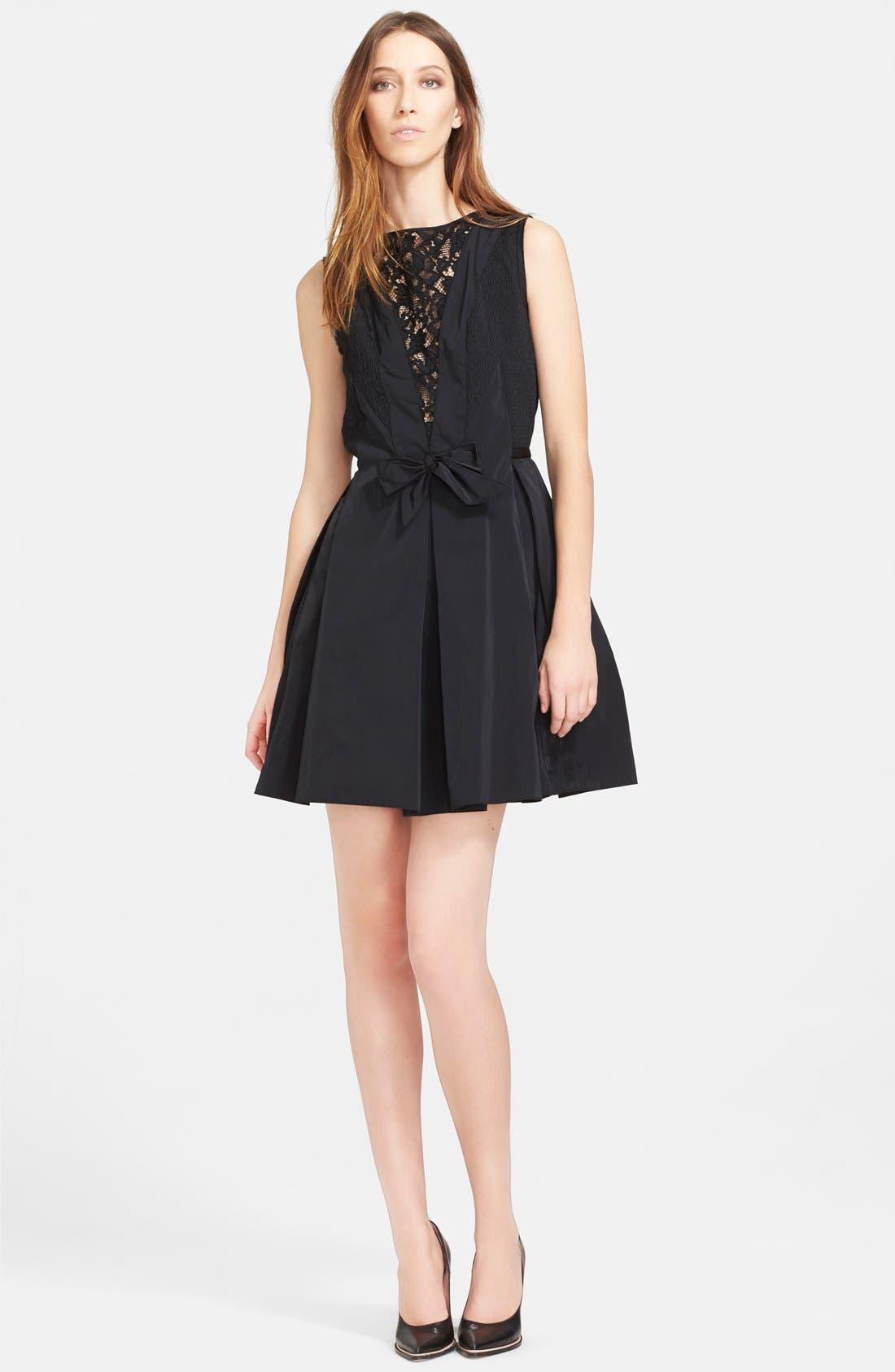 Alternate Image 1 Selected - Nina Ricci Lace & Radzimir Dress