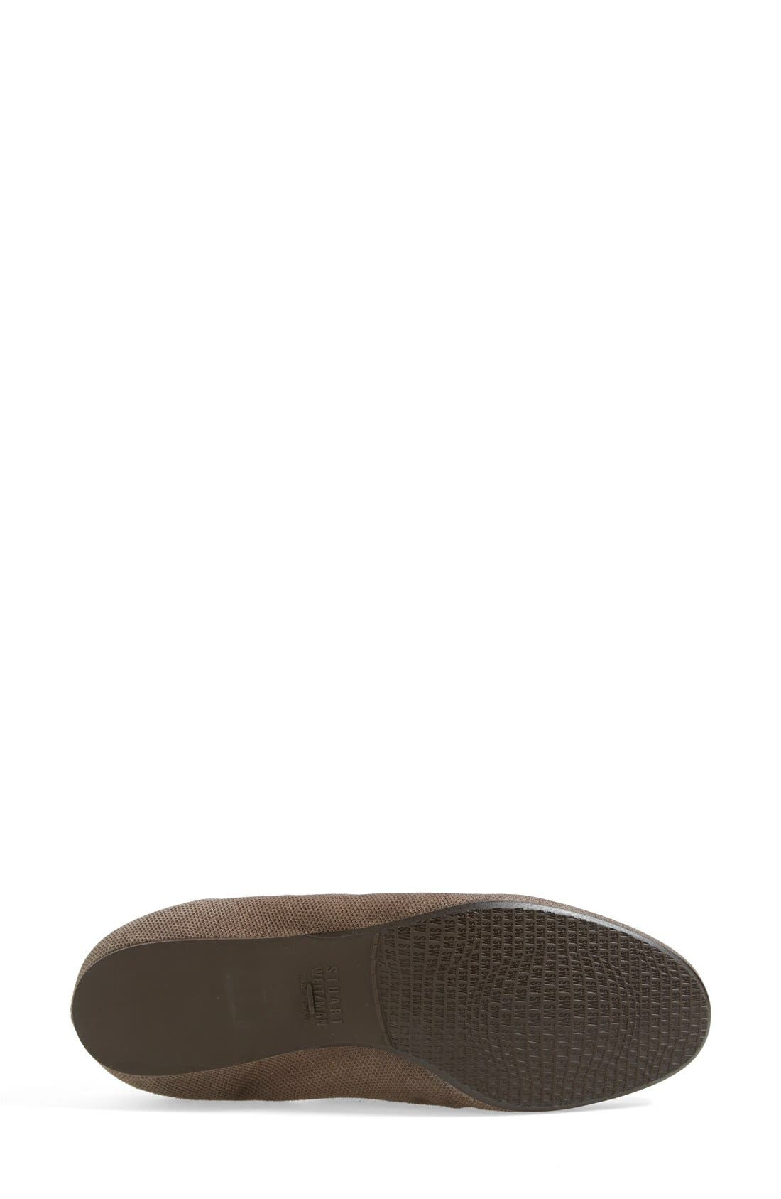 Alternate Image 4  - Stuart Weitzman 'Slipin' Flat (Nordstrom Exclusive) (Women)