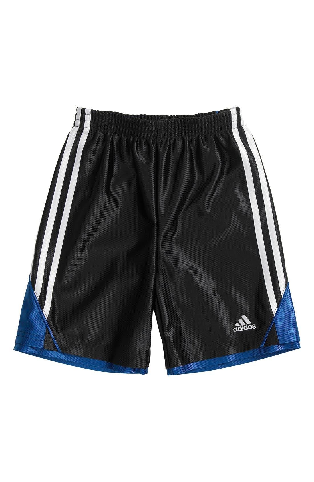 Alternate Image 1 Selected - adidas 'Prime Dazzle' Shorts (Toddler Boys)