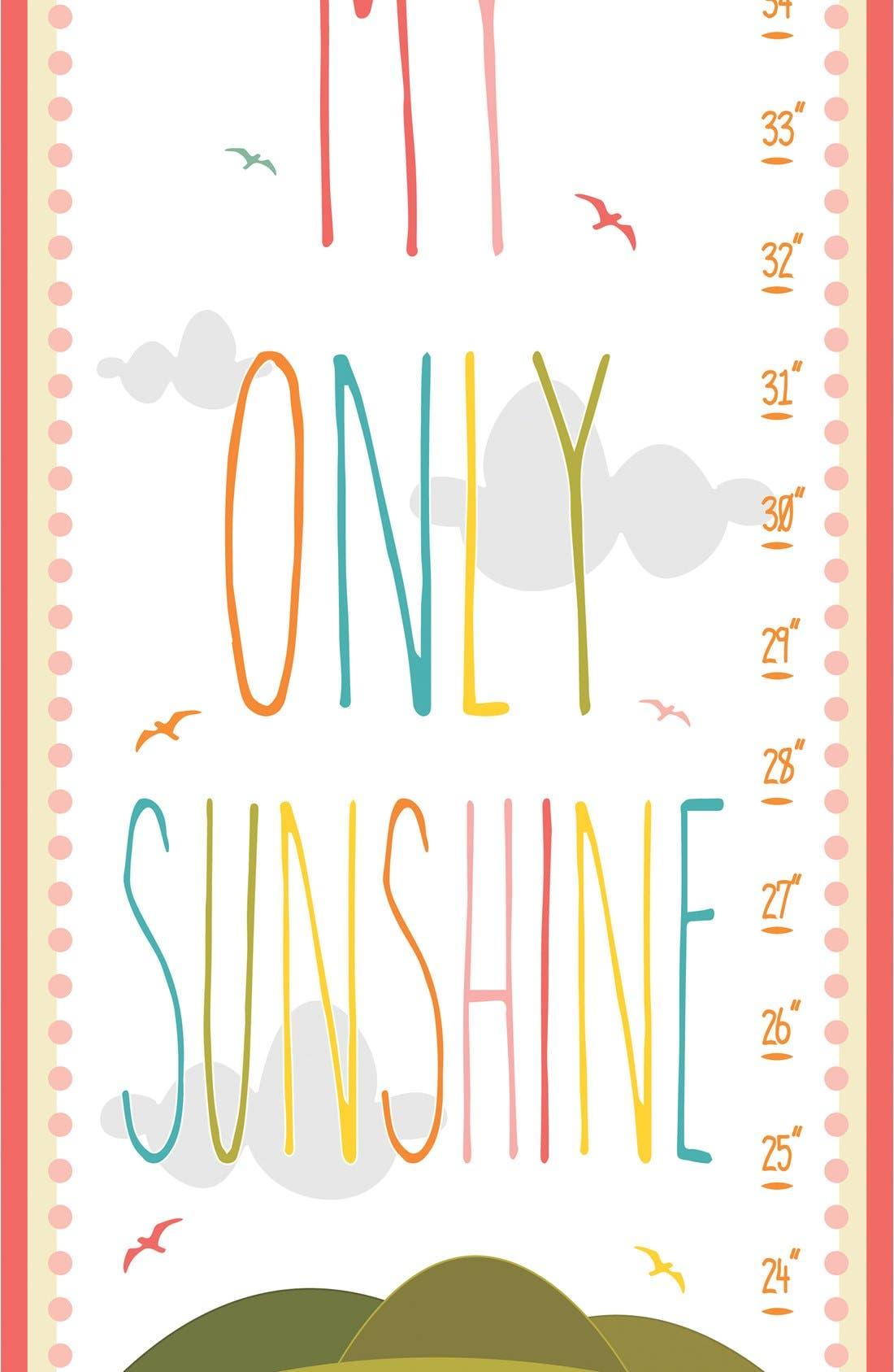 Alternate Image 2  - Stupell 'Sunshine' Personalized Growth Chart