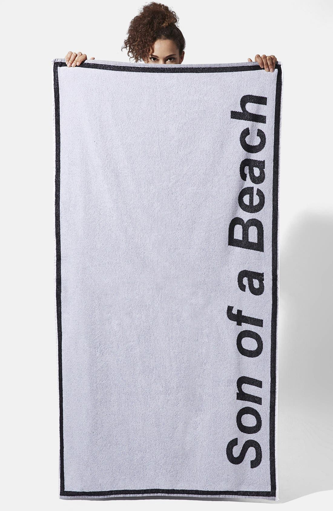Alternate Image 1 Selected - Ashish x Topshop 'Son of a Beach' Towel
