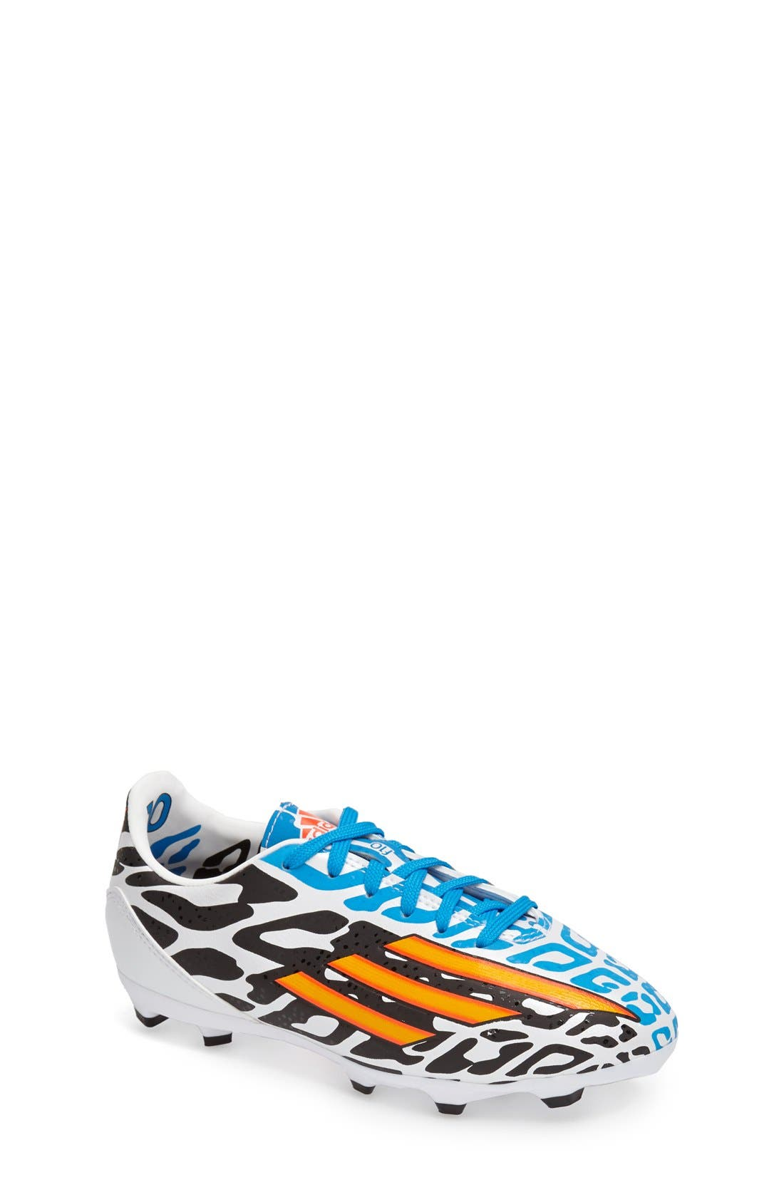 Alternate Image 1 Selected - adidas 'F10 FG Messi - 2014 FIFA World Cup Brasil™' Soccer Cleat (Toddler, Little Kid & Big Kid)