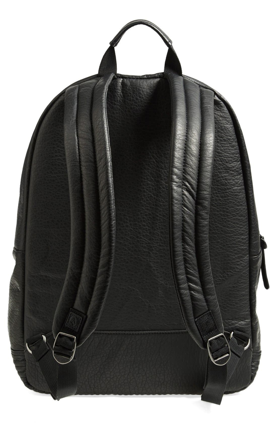 Alternate Image 4  - Volcom Faux Leather Backpack