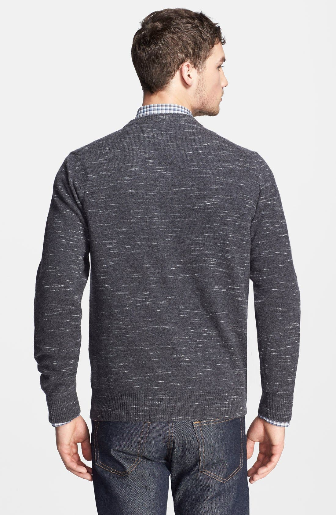 Alternate Image 2  - Billy Reid 'Jaspe' Marled Merino Wool Crewneck Sweater