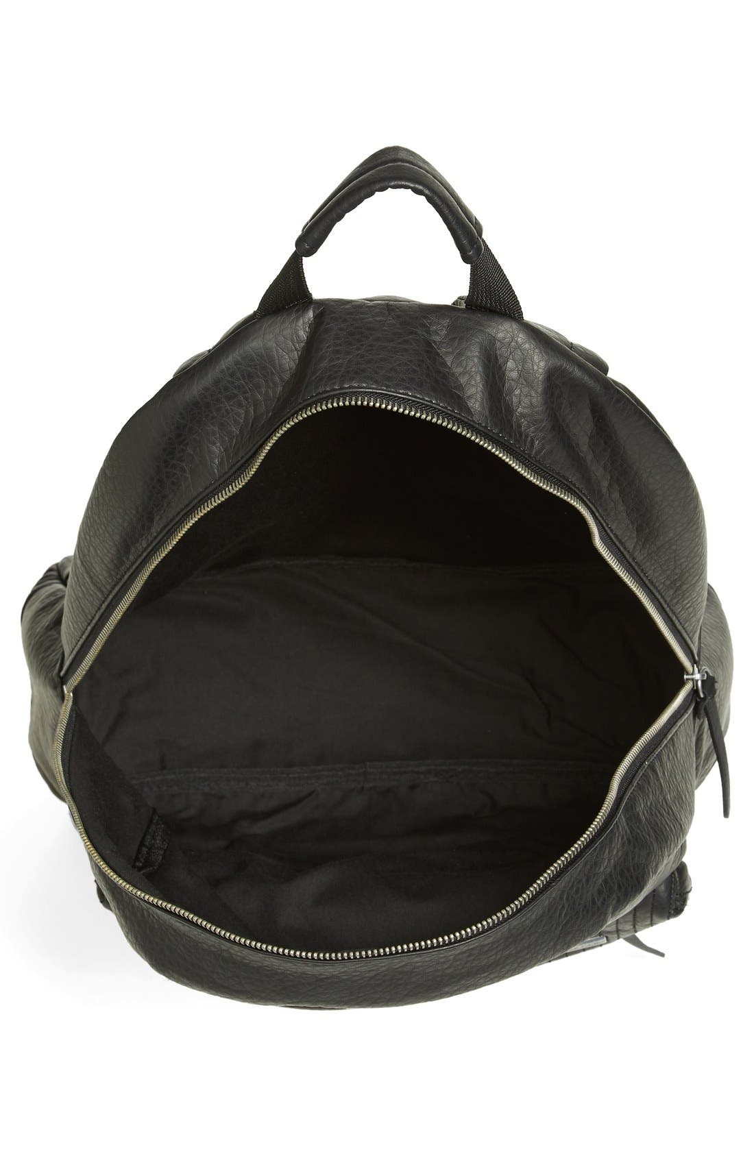 Alternate Image 3  - Volcom Faux Leather Backpack