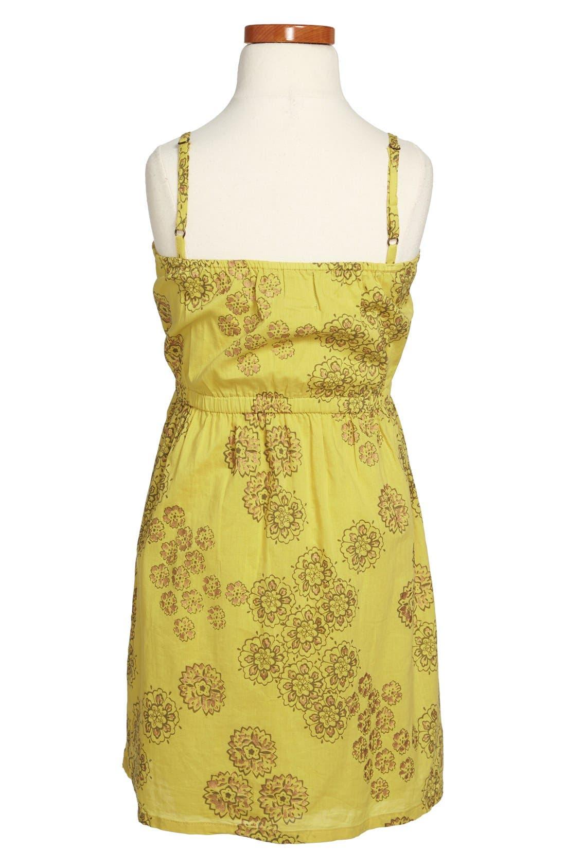 Alternate Image 2  - Peek 'Violet' Cotton Sundress (Toddler Girls, Little Girls & Big Girls)
