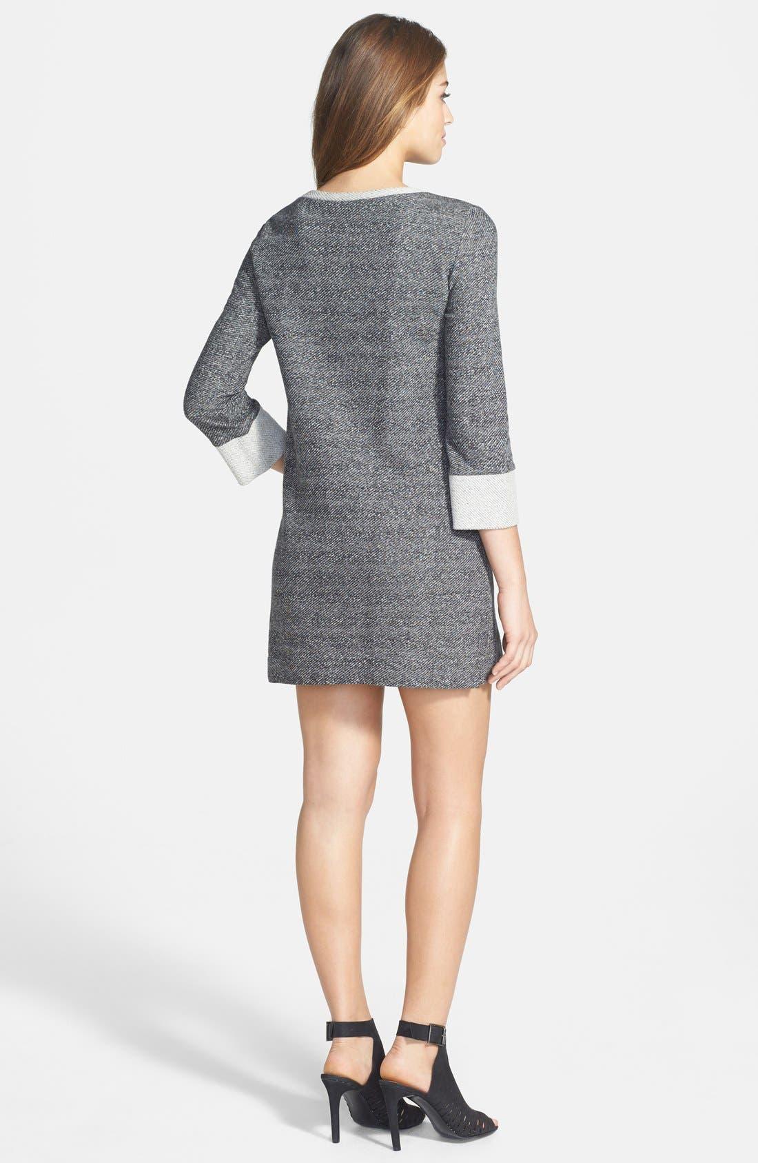 Alternate Image 2  - French Connection 'Mississippi Mélange' Sweater Knit Shift Dress