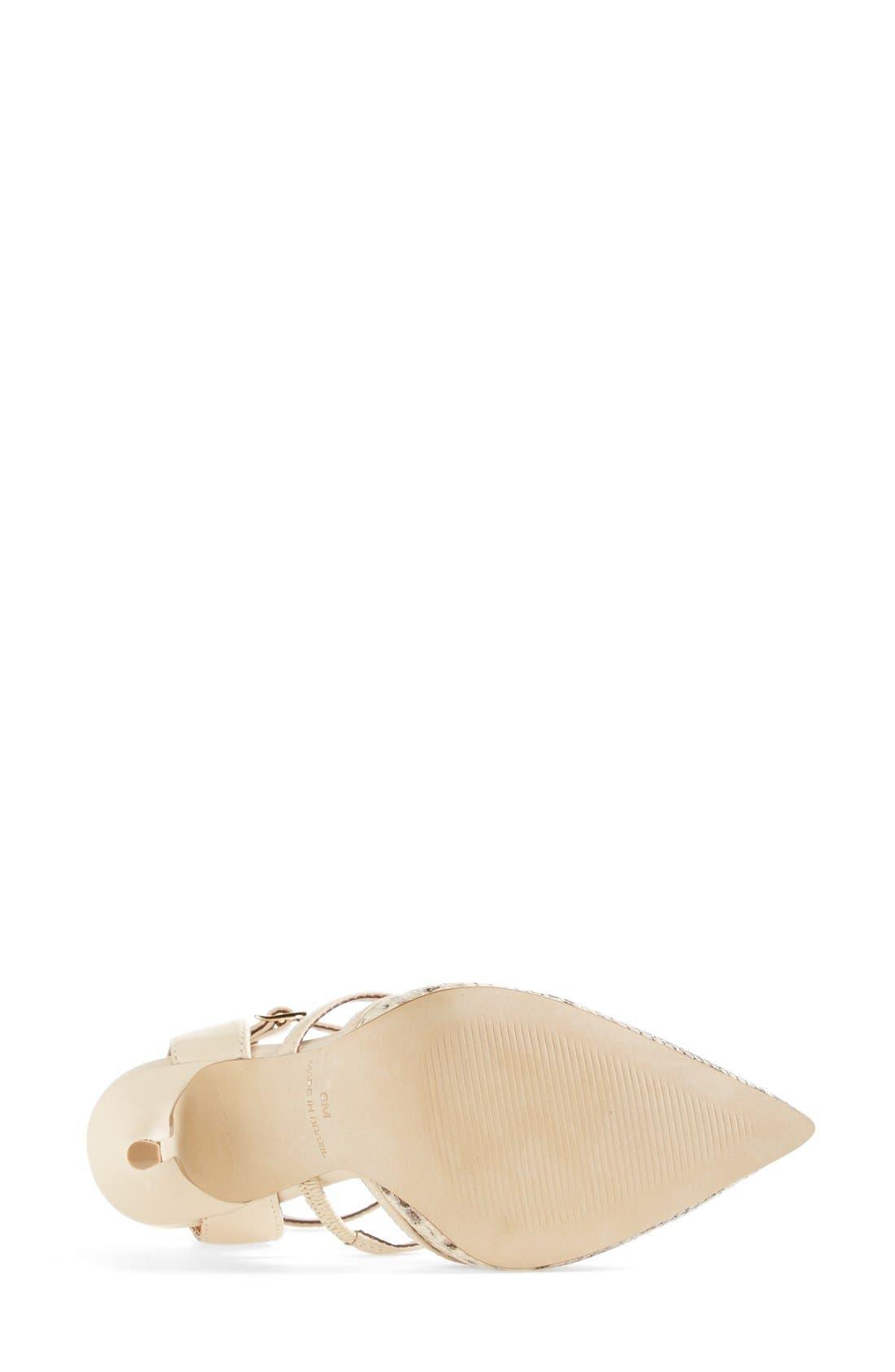 Alternate Image 4  - Steve Madden 'Surfice' Pointy Toe Pump (Women)