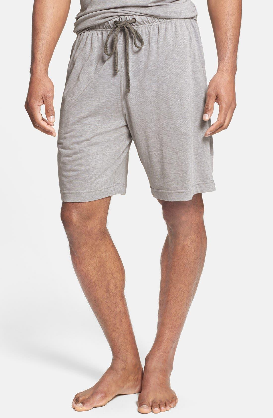 Alternate Image 1 Selected - Daniel Buchler Pima Cotton & Modal Lounge Shorts