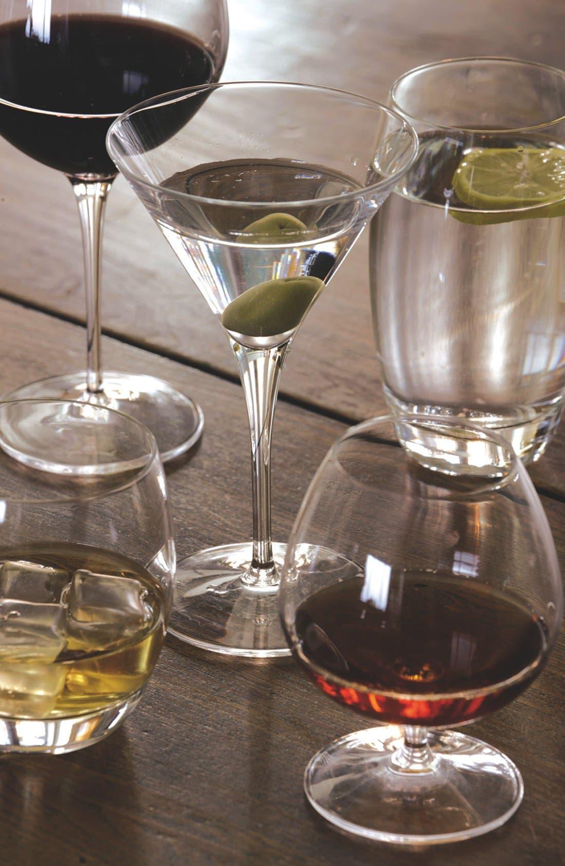 'Crescendo' Cognac Glasses,                             Alternate thumbnail 2, color,                             Clear