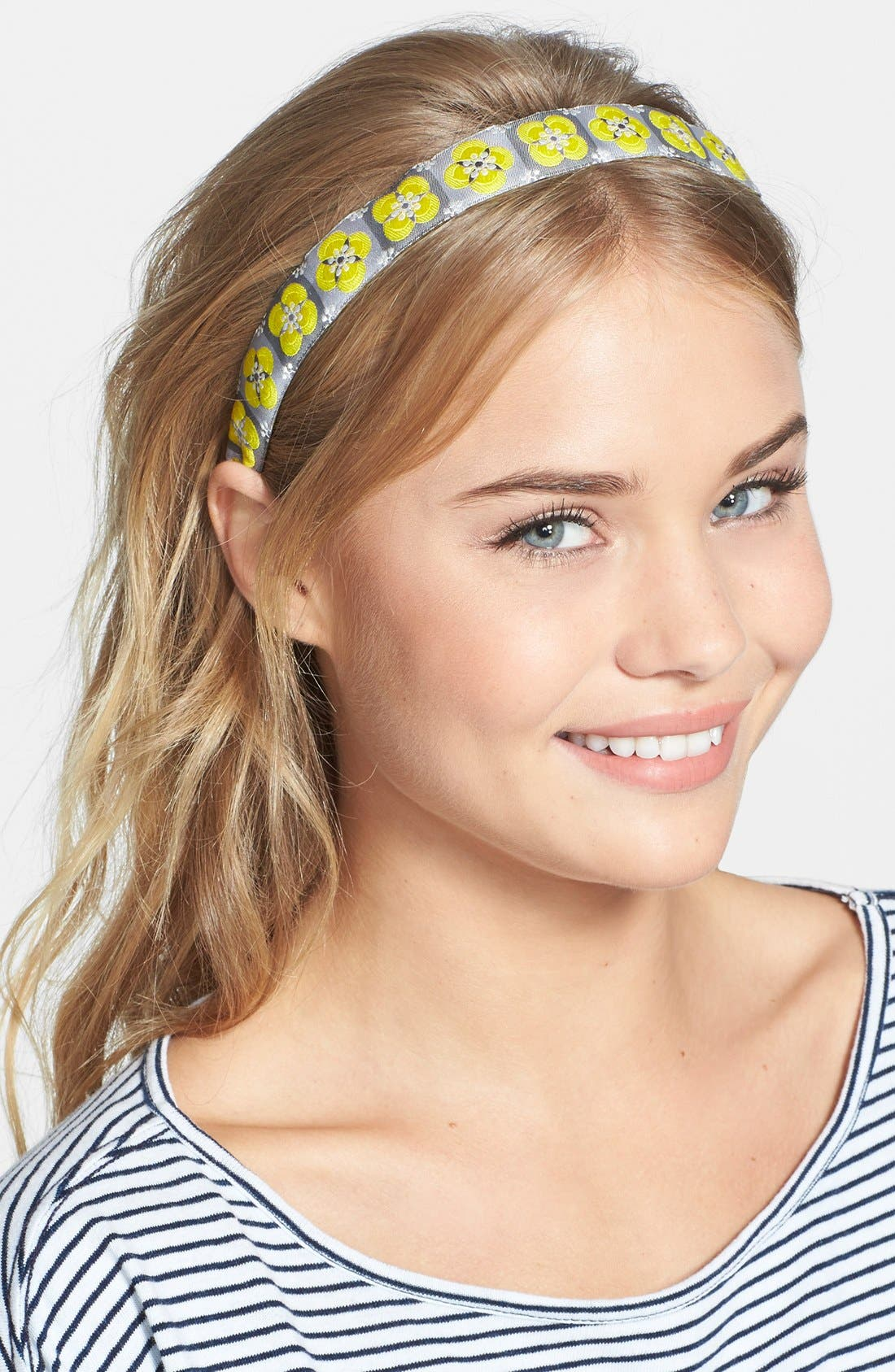 Alternate Image 1 Selected - L. Erickson Satin Ribbon Headband