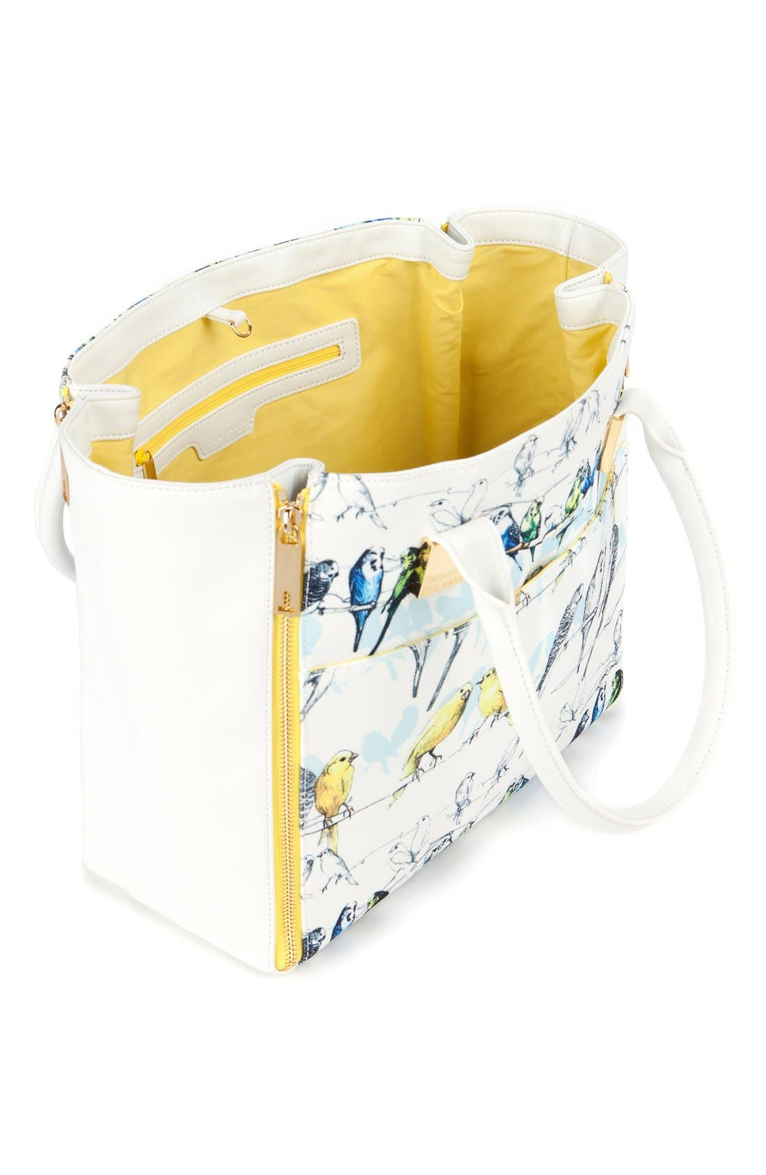 Alternate Image 2  - Ted Baker London 'Canary' Crosshatch Shopper