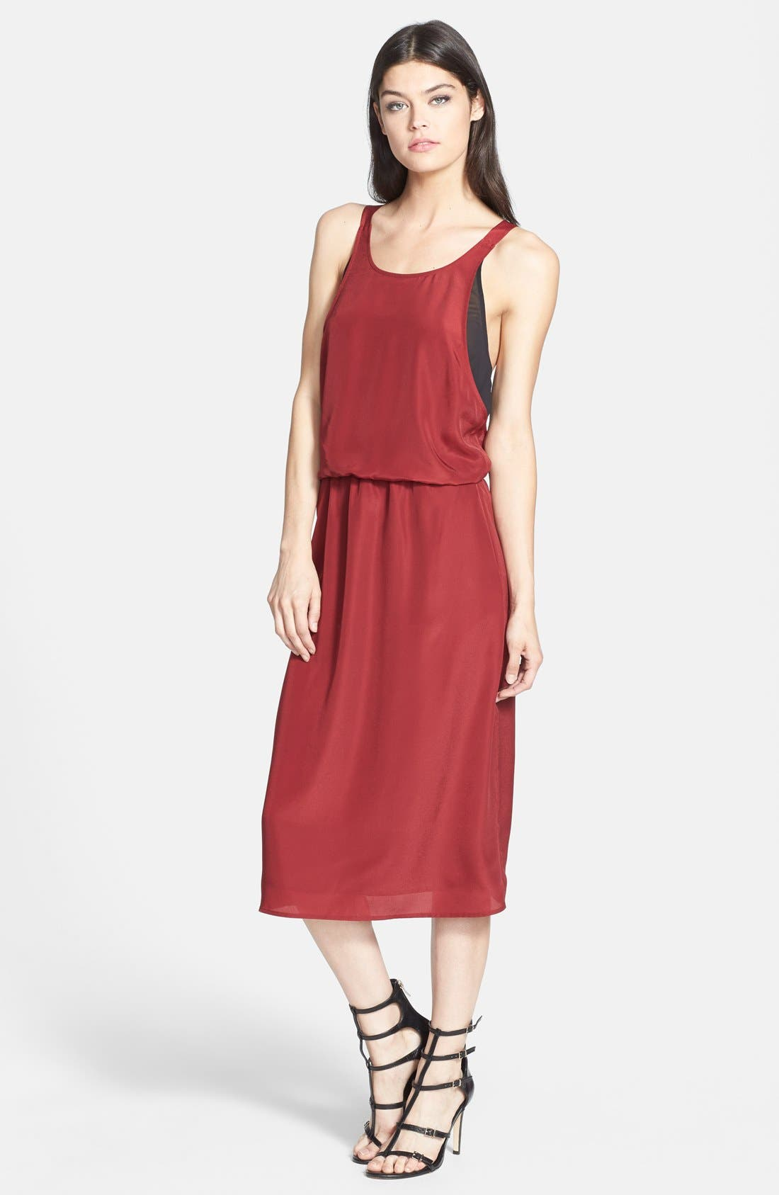 Alternate Image 1 Selected - 1.STATE Halter Midi Dress