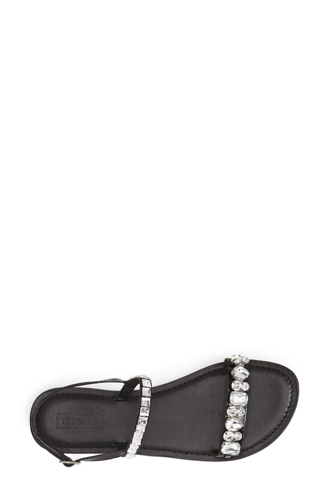 Alternate Image 3  - Topshop 'Harn' Embellished Sandal (Women)