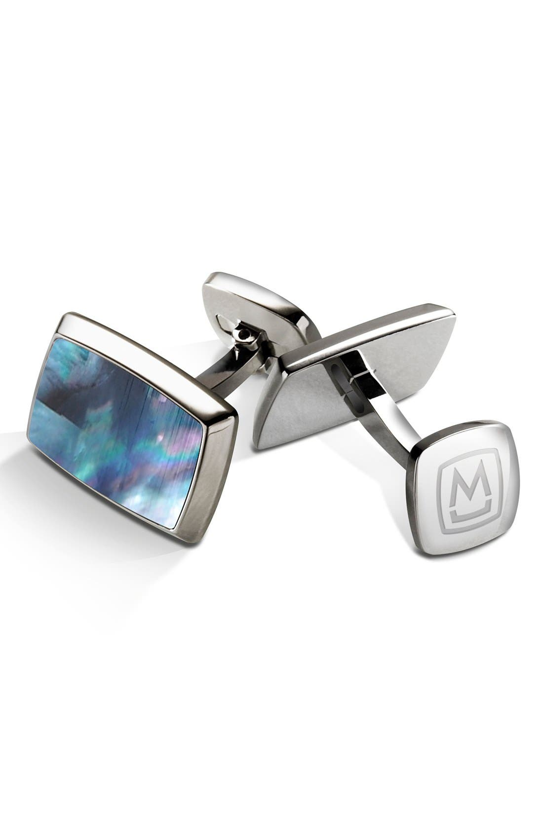 M-Clip® Stainless Steel Cuff Links