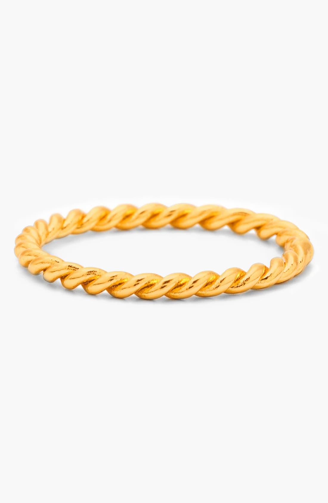 'Marina' Midi Ring,                             Main thumbnail 1, color,                             Gold