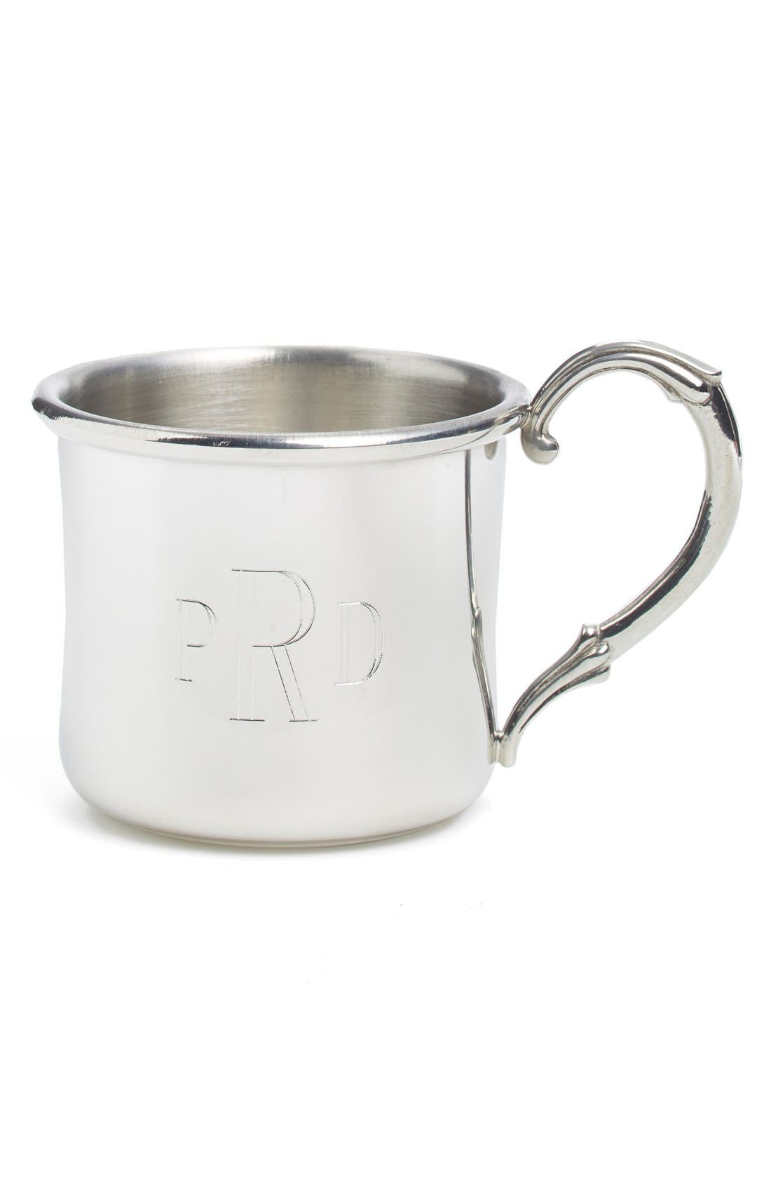 Alternate Image 1 Selected - Salisbury Pewter 'Easton' Personalized 5 oz. Cup
