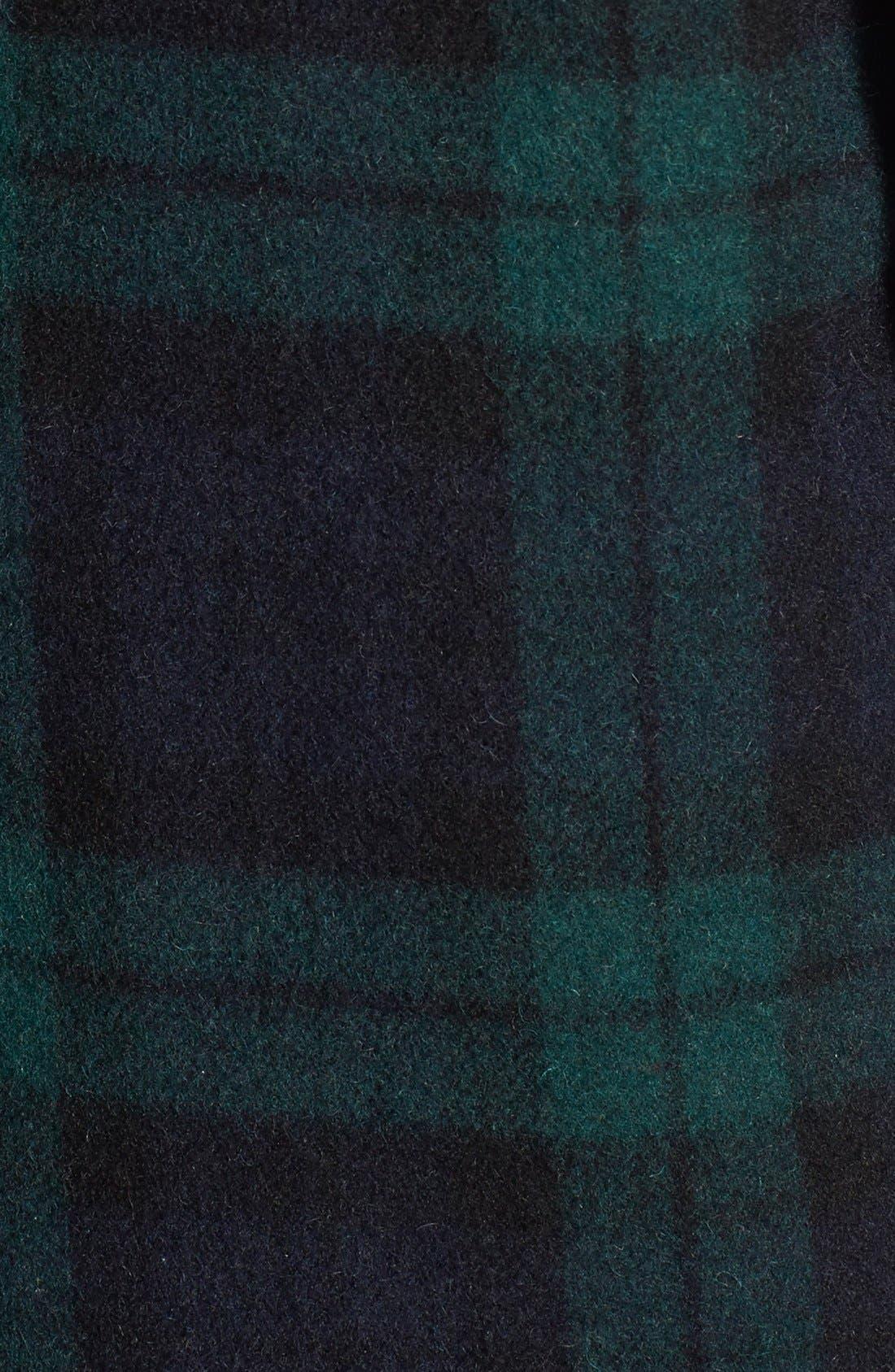 Alternate Image 3  - Mackage 'Berta' Asymmetrical Wool Blend Plaid Coat