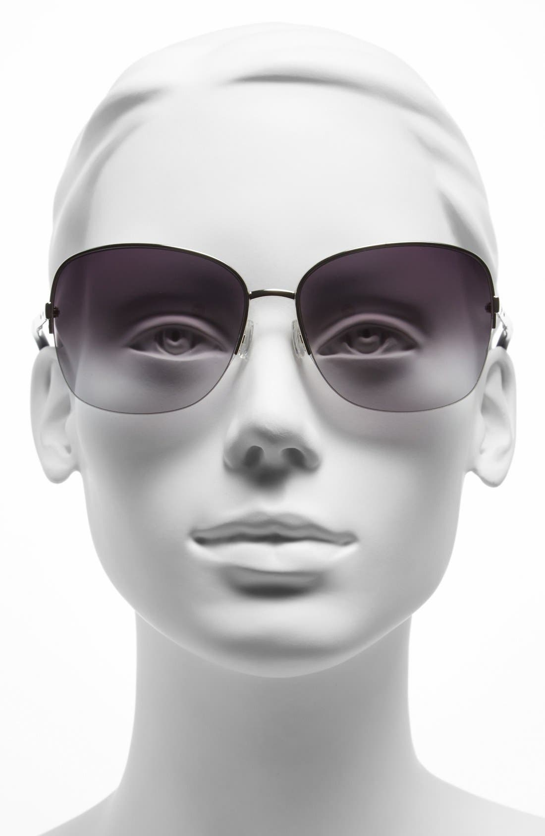 Alternate Image 2  - Bobbi Brown 60mm Semi-Rimless Sunglasses