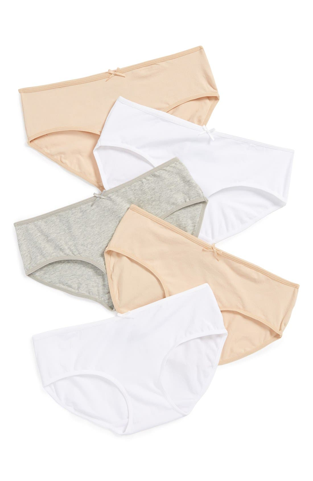 Tucker + Tate 5-Pack Hipster Briefs (Toddler Girls, Little Girls & Big Girls)