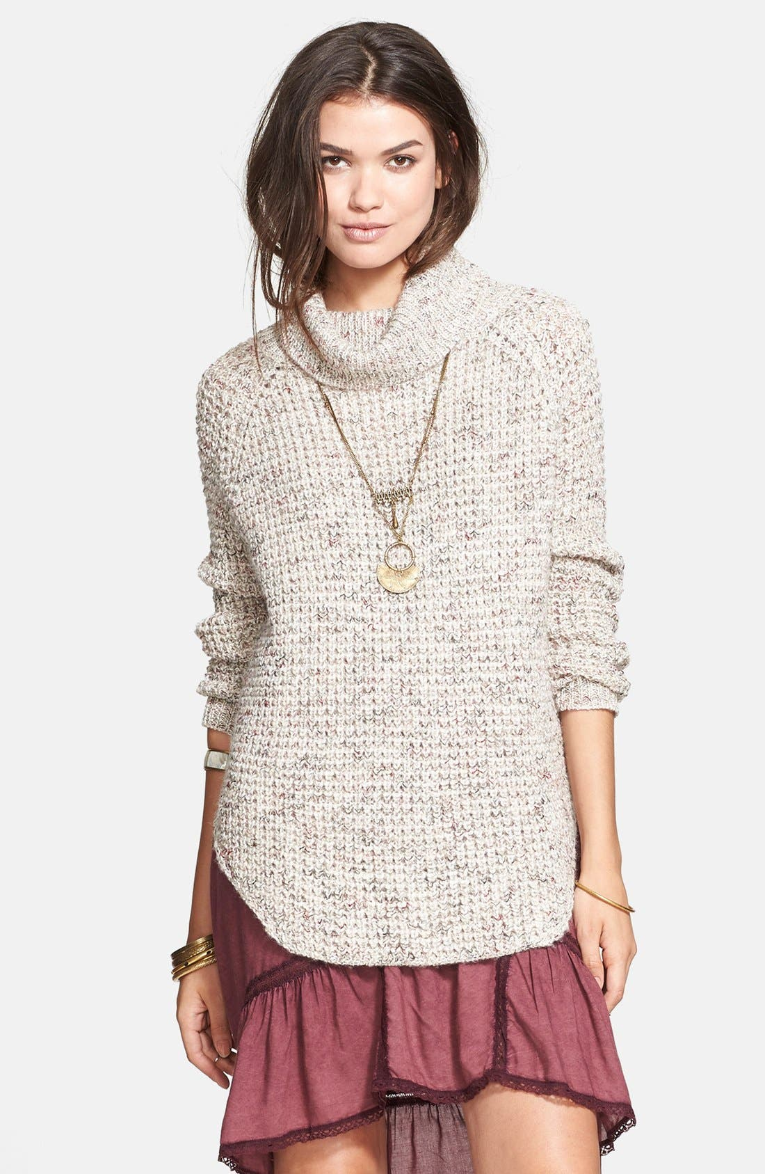 Alternate Image 1 Selected - Free People Turtleneck Pullover