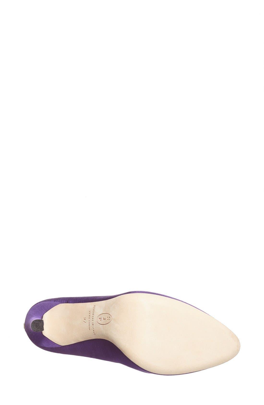 SJP 'Lady' Pump,                             Alternate thumbnail 4, color,                             Purple