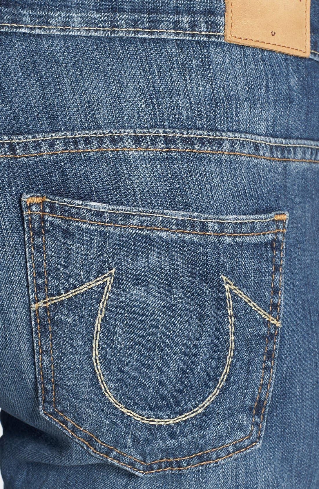 Alternate Image 3  - True Religion Brand Jeans 'Audrey' Boyfriend Jeans (Spring Ink)