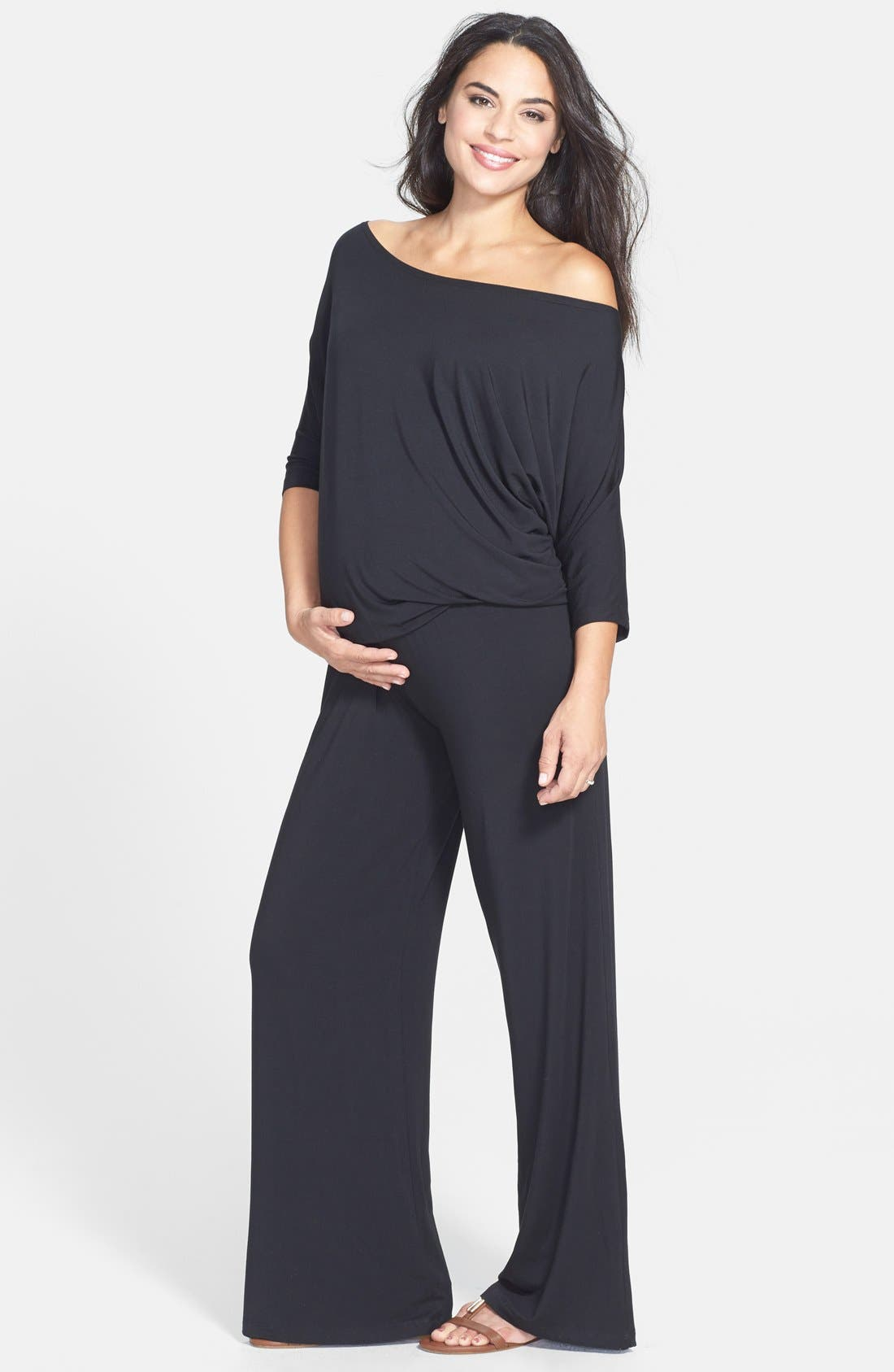 Alternate Image 1 Selected - Tart Maternity 'Michelle' Maternity Jumpsuit