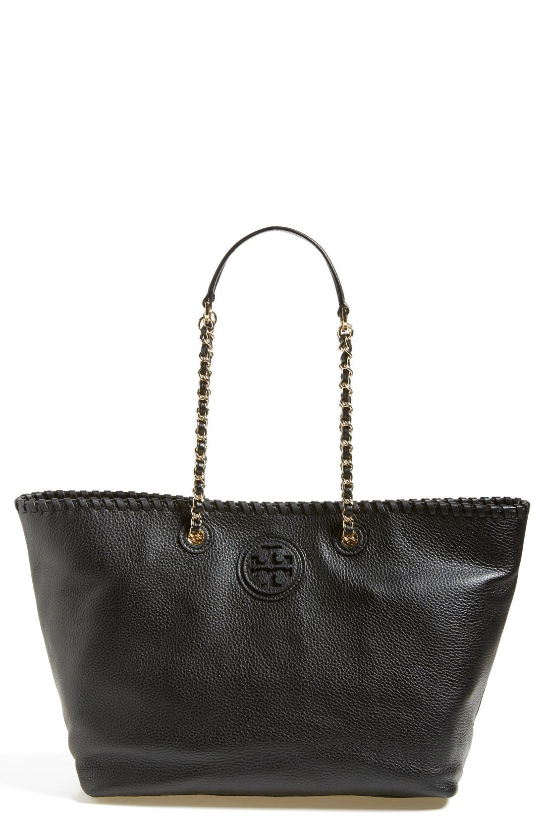 Alternate Image 1 Selected - Tory Burch 'Marion' Leather Tote