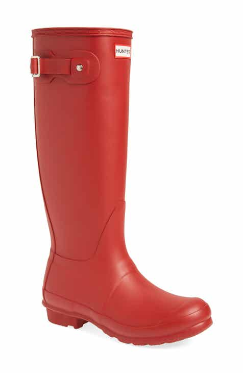 27449f8436cd65 Hunter Original Tall Waterproof Rain Boot (Women)
