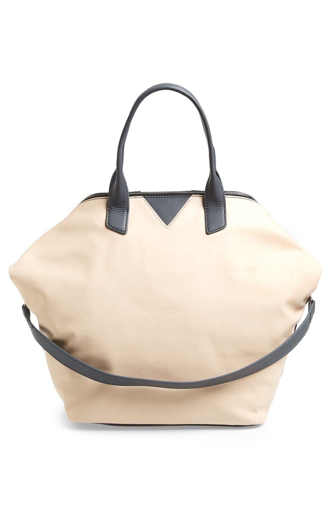 Alternate Image 5  - Sam Edelman 'Sharp Graphic' Leather Satchel