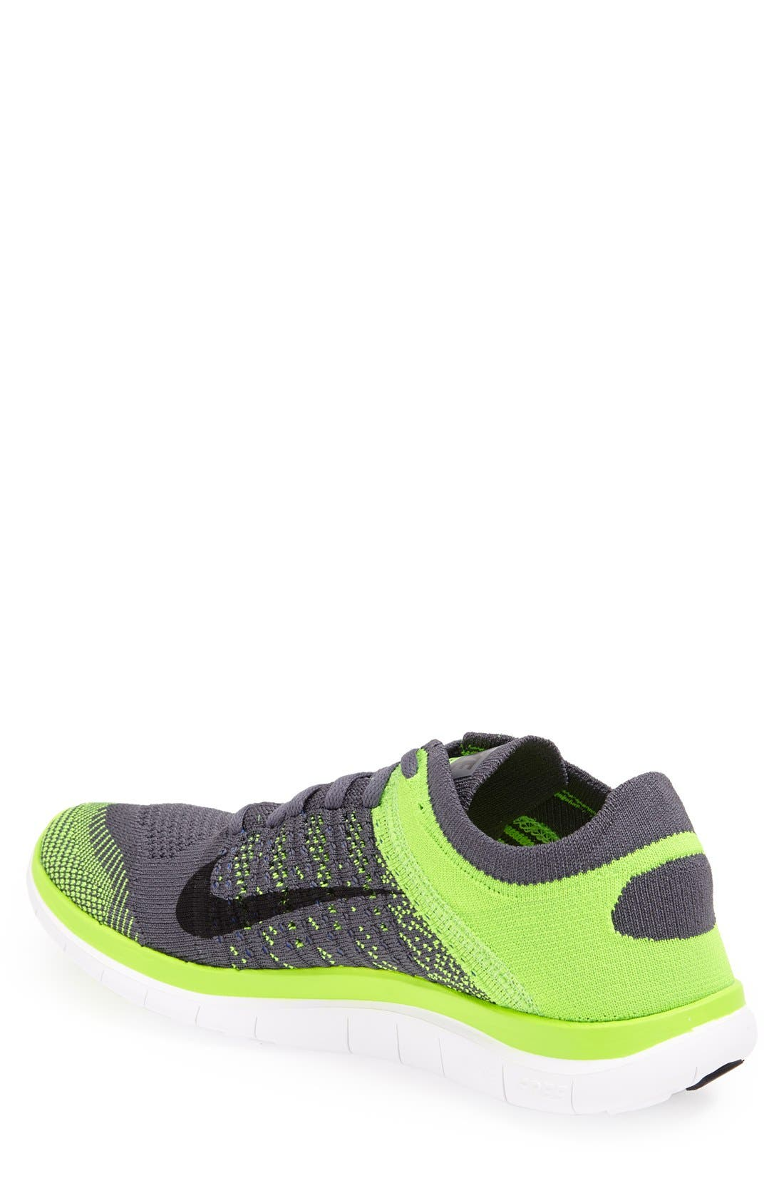 Alternate Image 2  - Nike 'Free 4.0 Flyknit' Running Shoe (Men)