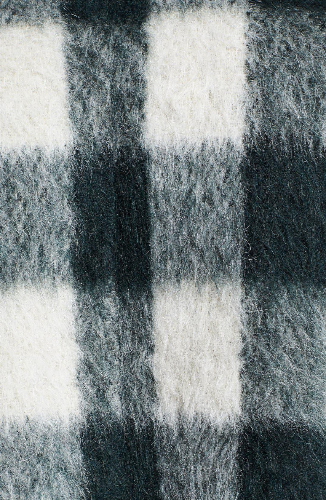 Alternate Image 6  - rag & bone 'Falkland' Hooded Mohair Check Parka