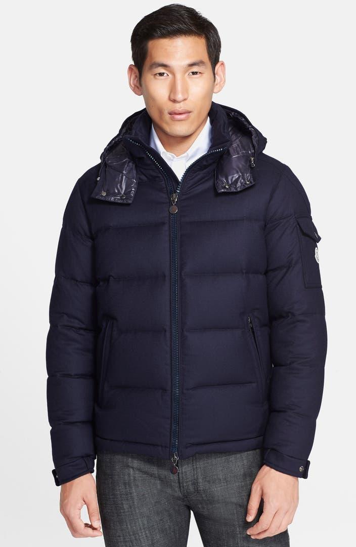 Moncler 'Montgenevre' Wool Down Jacket | Nordstrom